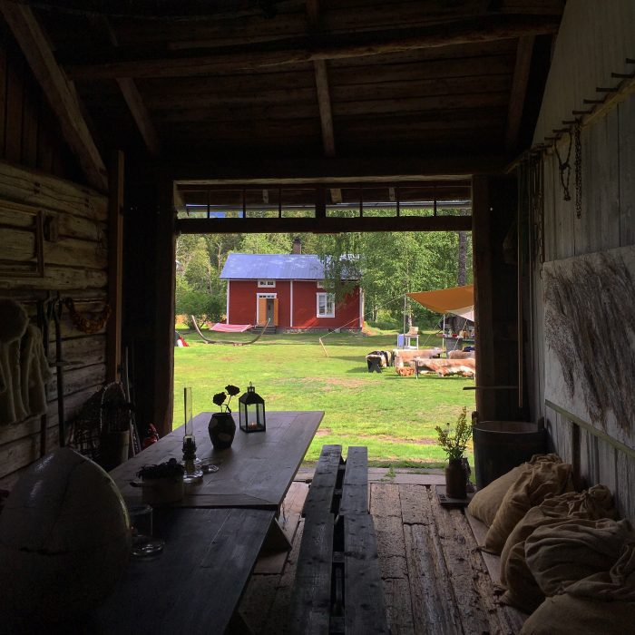 tjarn farm 700x700 - A relaxing visit to Tjarn farmstead in Vasterbotten, Sweden