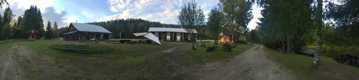 tjarn farmstead panorama 700x157 - A relaxing visit to Tjarn farmstead in Vasterbotten, Sweden