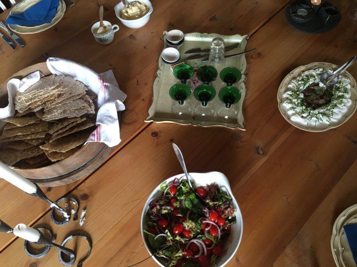 tjarn fresh local food 700x525 - A relaxing visit to Tjarn farmstead in Vasterbotten, Sweden