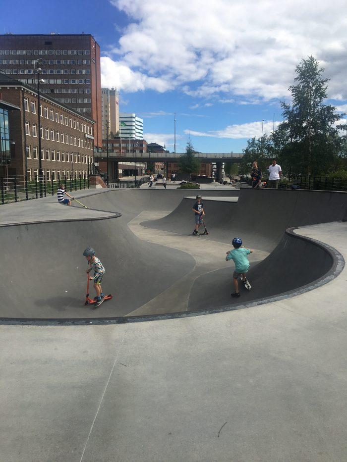 umea skate park 700x933 - A photo walk & museum visits in Umeå, Sweden