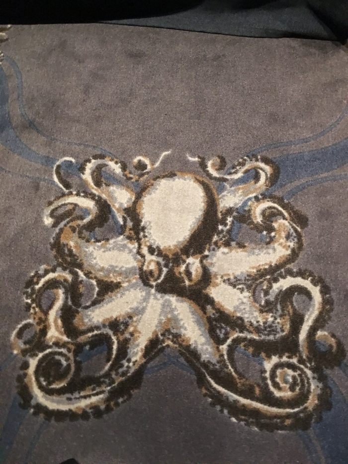 octopus carpet 700x933 - Stora Hotellet Umeå, Sweden review