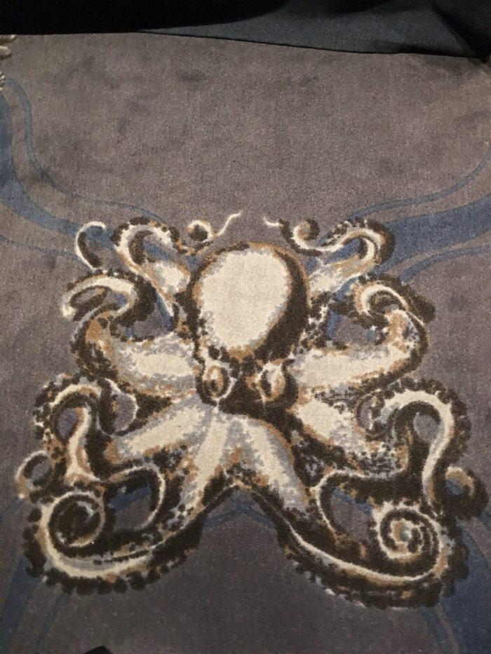 octopus carpet 700x933 - Stora Hotellet Umeå, Sweden review