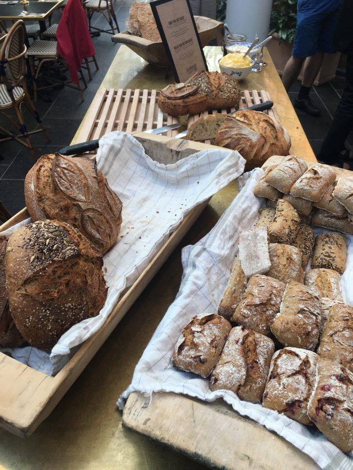 stora hotellet breakfast bread 700x933 - Stora Hotellet Umeå, Sweden review