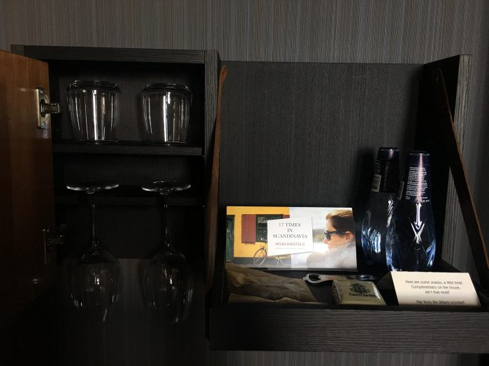 stora hotellet snacks water 700x525 - Stora Hotellet Umeå, Sweden review