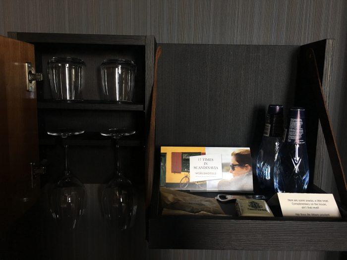 stora hotellet snacks water 700x525 - Stora Hotellet Umeå, Sweden review