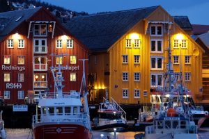 tromso waterfront 300x200 - Travel Tip: Don't try to get over jet lag in a dark place