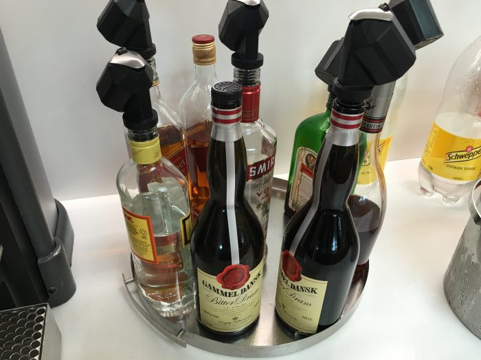 aspire lounge copenhagen cph liquor 700x525 - Aspire Lounge Copenhagen CPH Airport review