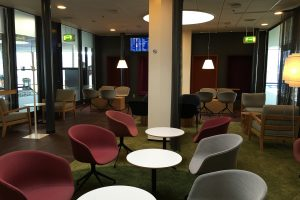 aspire lounge copenhagen seats 300x200 - Aspire Lounge Copenhagen CPH Airport review