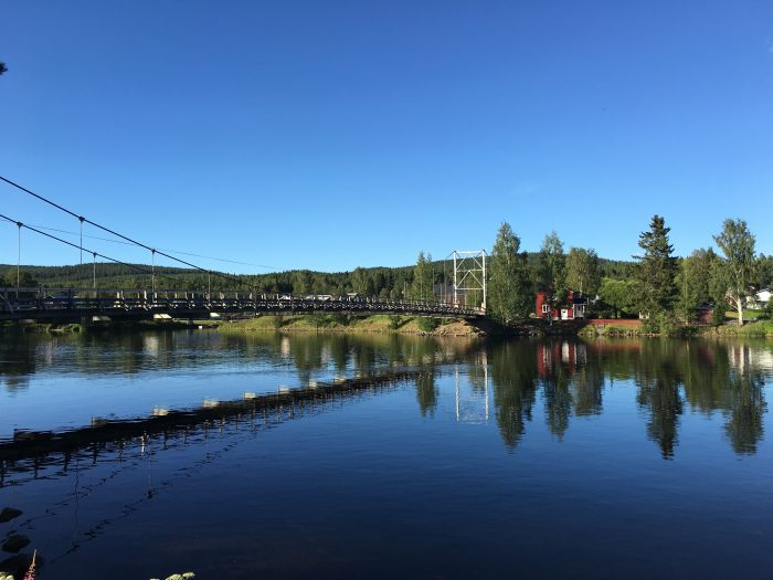 granö beckasin bridge 700x525 - Sleeping in a treehouse at Granö Beckasin in Granö, Sweden