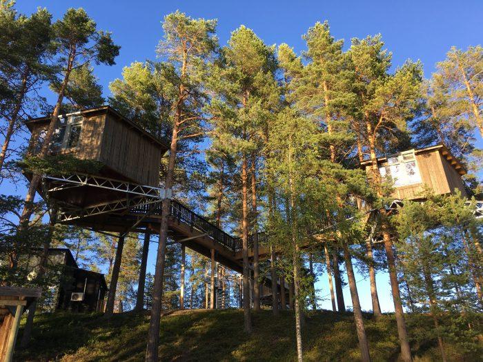 granö beckasin lodge 700x525 - Sleeping in a treehouse at Granö Beckasin in Granö, Sweden