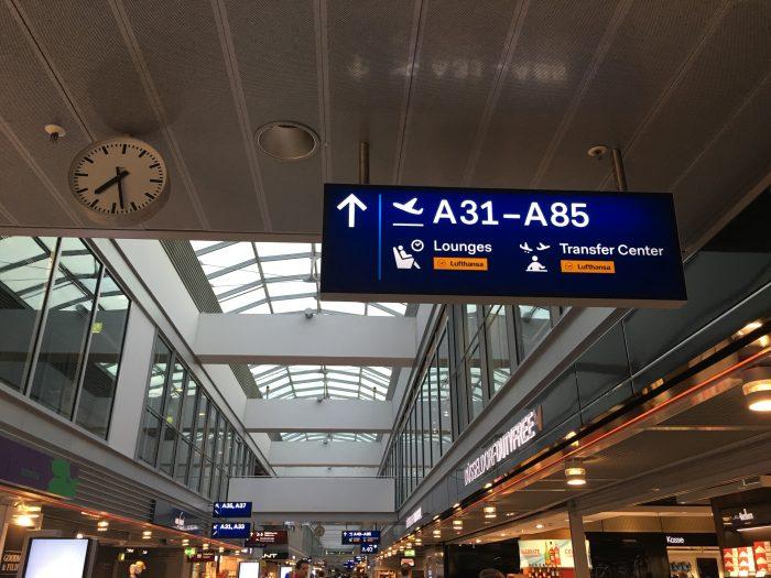 lounges dusseldorf airport 700x525 - Lufthansa Business Lounge Dusseldorf DUS Airport review