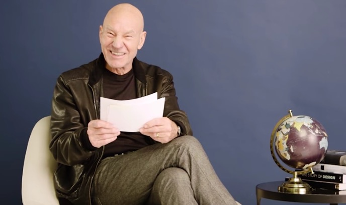 patrick stewart reads one star reviews - Sir Patrick Stewart reads one-star reviews of famous tourist attractions