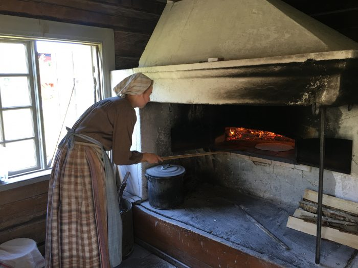 vasterbottens museum bread baking 700x525 - A visit to the Västerbottens Museum in Umeå, Sweden