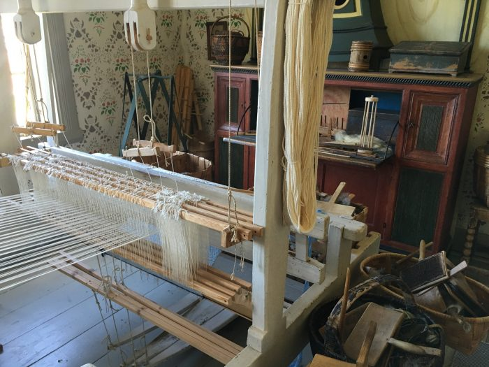 vasterbottens museum weaving 700x525 - A visit to the Västerbottens Museum in Umeå, Sweden