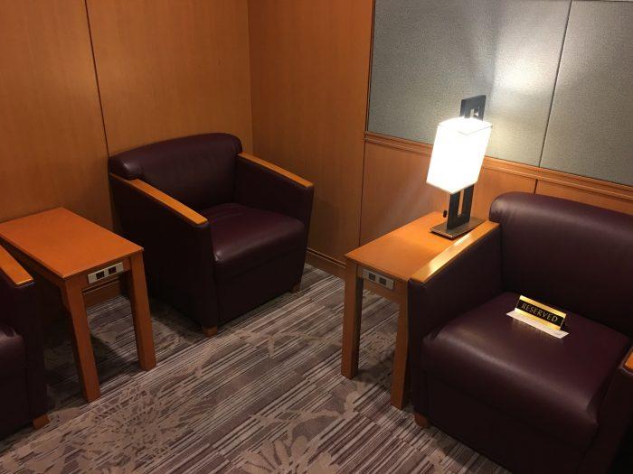 japan airlines sakura lounge san francisco sfo first class 700x525 - Japan Airlines JAL Sakura Lounge San Francisco SFO review