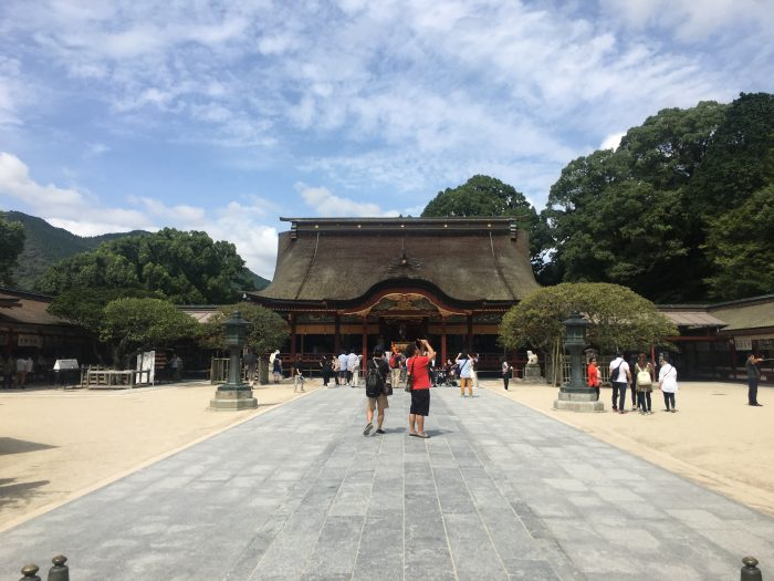 dazaifu tenmangu shrine 700x525 - A day trip from Fukuoka to Dazaifu, Japan