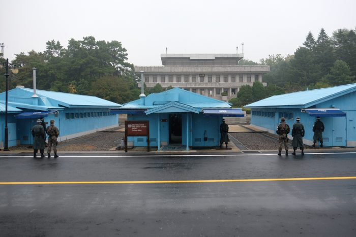 dmz tour from seoul panmunjom 700x467 - A visit to the DMZ - Touring the border between South Korea & North Korea