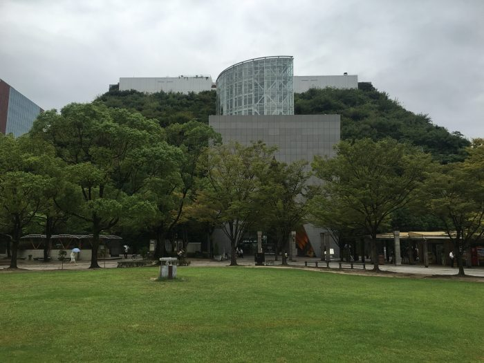 fukuoka symphony hall 700x525 - A walking tour of the parks, shrines, & temples of Fukuoka, Japan