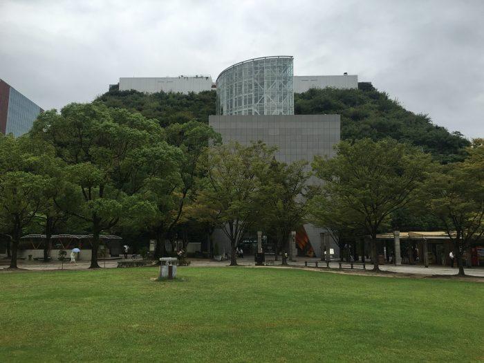 fukuoka symphony hall 700x525 - A walking tour of the parks, shrines, & temples of Fukuoka, Japan