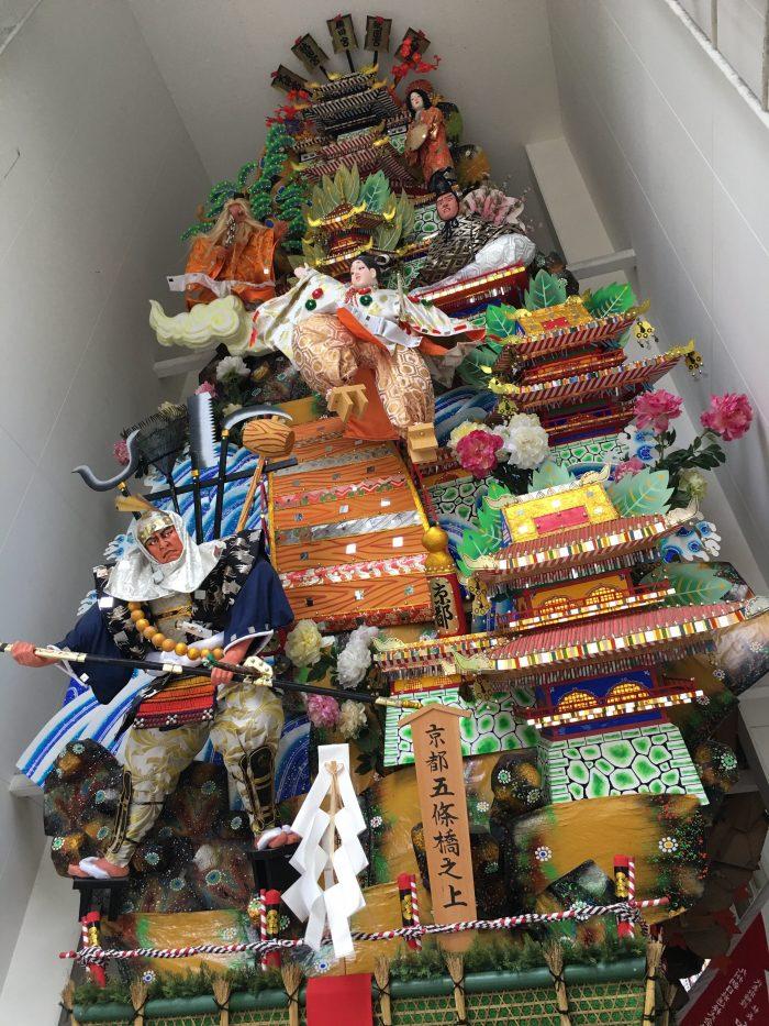 hakata gion yamakasa float 700x933 - A walking tour of the parks, shrines, & temples of Fukuoka, Japan