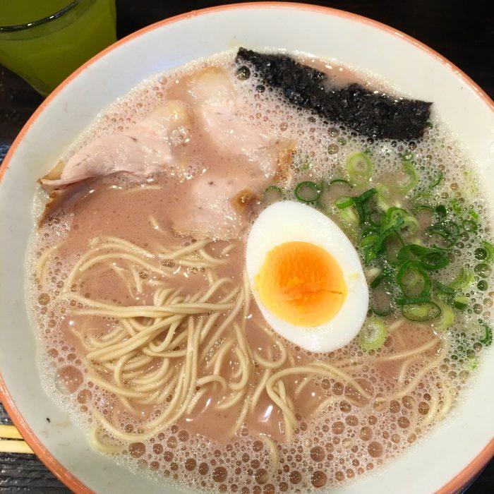 kurume taiho ramen tonkotsu 700x700 - The best tonkotsu ramen in Fukuoka, Japan