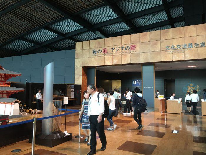 kyushu national museum entrance 700x525 - A day trip from Fukuoka to Dazaifu, Japan