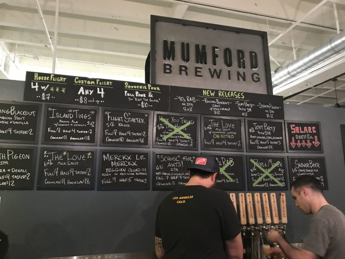 mumford brewing 700x525 - The best craft beer in Downtown Los Angeles