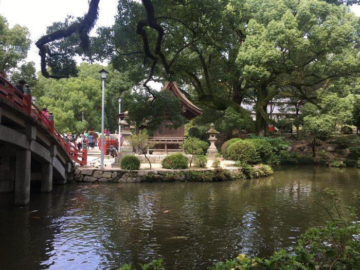 shigasha shrine dazaifu 700x525 - A day trip from Fukuoka to Dazaifu, Japan