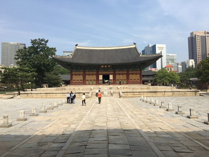 deoksugong palace 700x525 - A visit to the Five Grand Palaces of Seoul, South Korea