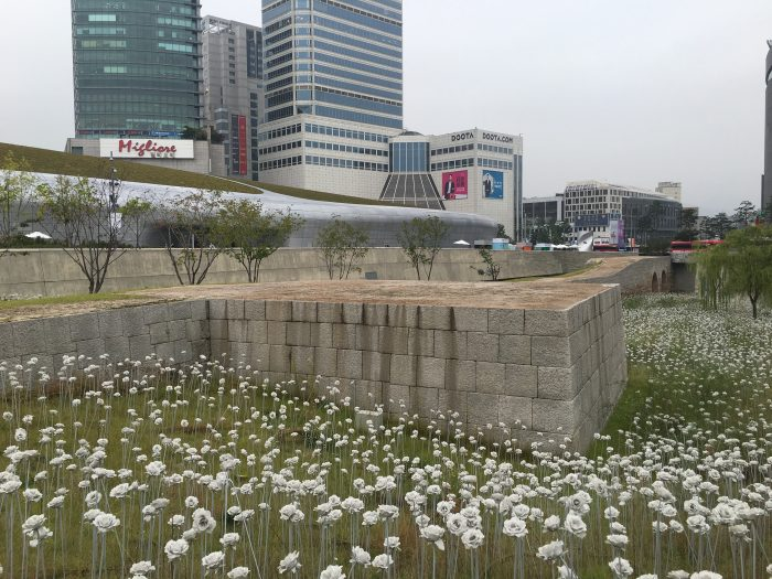 dongdaemun history culture park seoul 700x525 - Walking the Seoul City Wall - Heunginjimun Gate Trail section