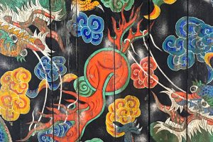 gwanghuimun gate art 300x200 - Walking the Seoul City Wall - Heunginjimun Gate Trail section