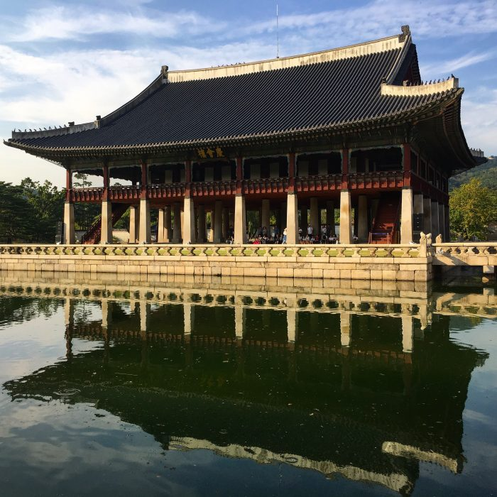 gyeonghoeru pavilion 700x700 - A visit to the Five Grand Palaces of Seoul, South Korea
