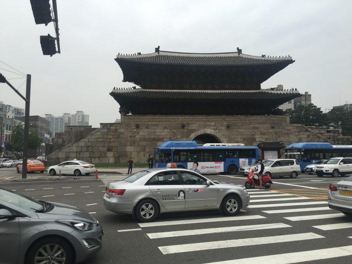 heunginjimun gate 700x525 - Walking the Seoul City Wall - Naksan Mountain Trail section