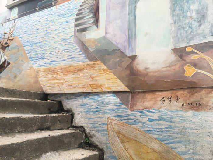 ihwa mural village seoul 700x525 - Walking the Seoul City Wall - Naksan Mountain Trail section