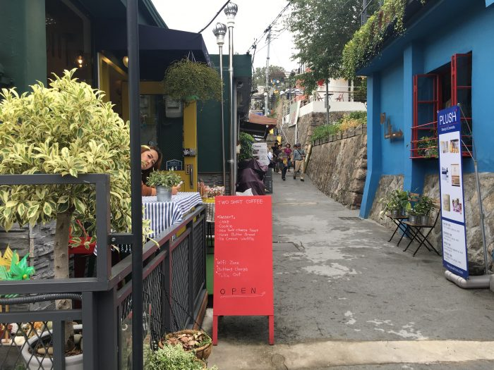 ihwa mural village shops cafes 700x525 - Walking the Seoul City Wall - Naksan Mountain Trail section