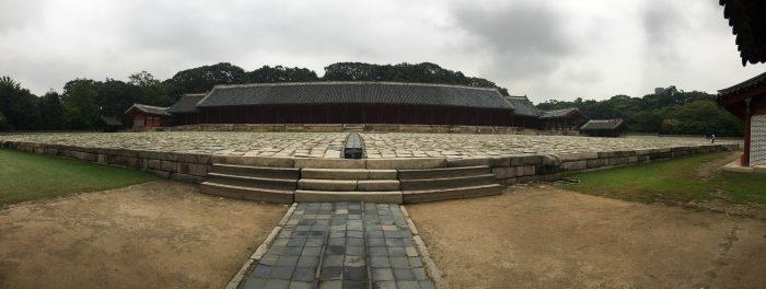jongmyo shrine 700x264 - A visit to Jongmyo Shrine in Seoul, South Korea