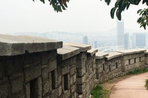 naksan mountain trail birds 300x200 - Walking the Seoul City Wall - Naksan Mountain Trail section