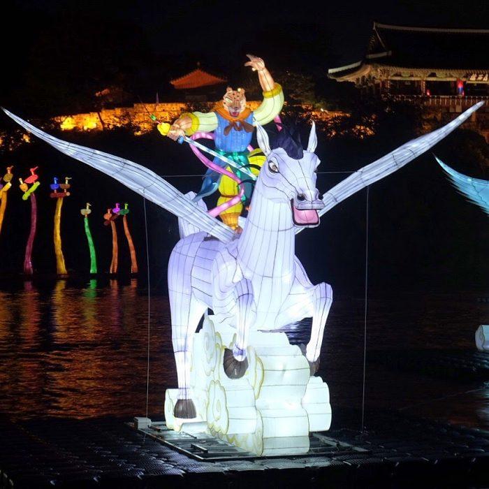 jinju lantern festival pegasus 700x700 - Attending the Jinju Lantern Festival in Jinju, South Korea