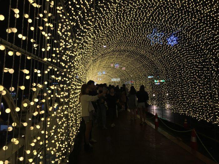jinju lantern festival tunnel of lights 700x525 - Attending the Jinju Lantern Festival in Jinju, South Korea