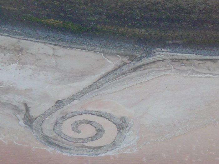 spiral jetty utah 700x525 - Historic & natural journeys in Box Elder County, Utah