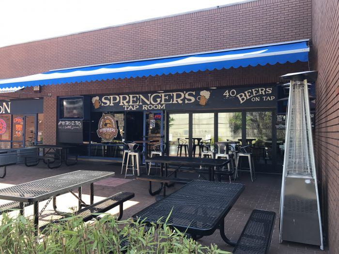 sprengers tap room 700x525 - The best craft beer in Santa Rosa, California