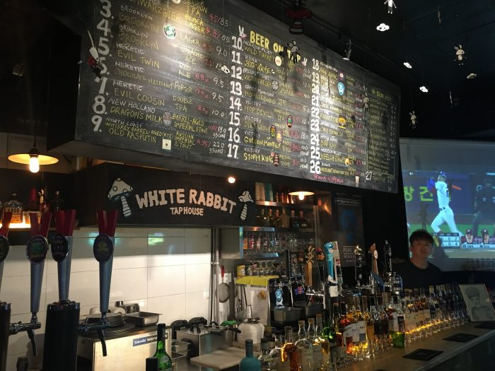 white rabbit seoul 700x525 - 10 great places for craft beer in Seoul, South Korea