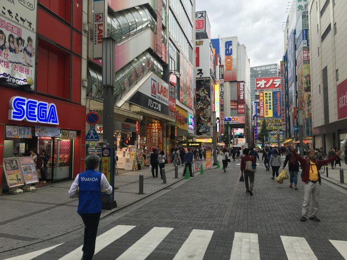 akihabara 700x525 - A layover in Tokyo from Haneda Airport - sushi, arcades, & beer in Akihabara