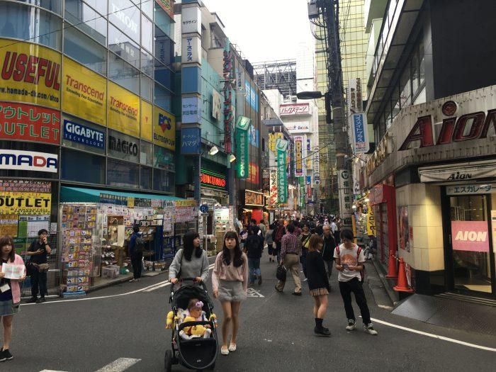 akihabara tokyo 700x525 - A layover in Tokyo from Haneda Airport - sushi, arcades, & beer in Akihabara