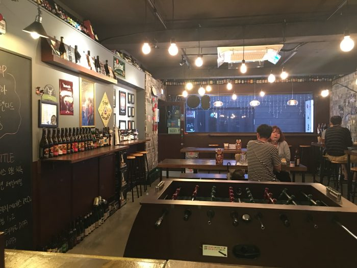 The best craft beer in busan south korea for Craft beer pubs near me