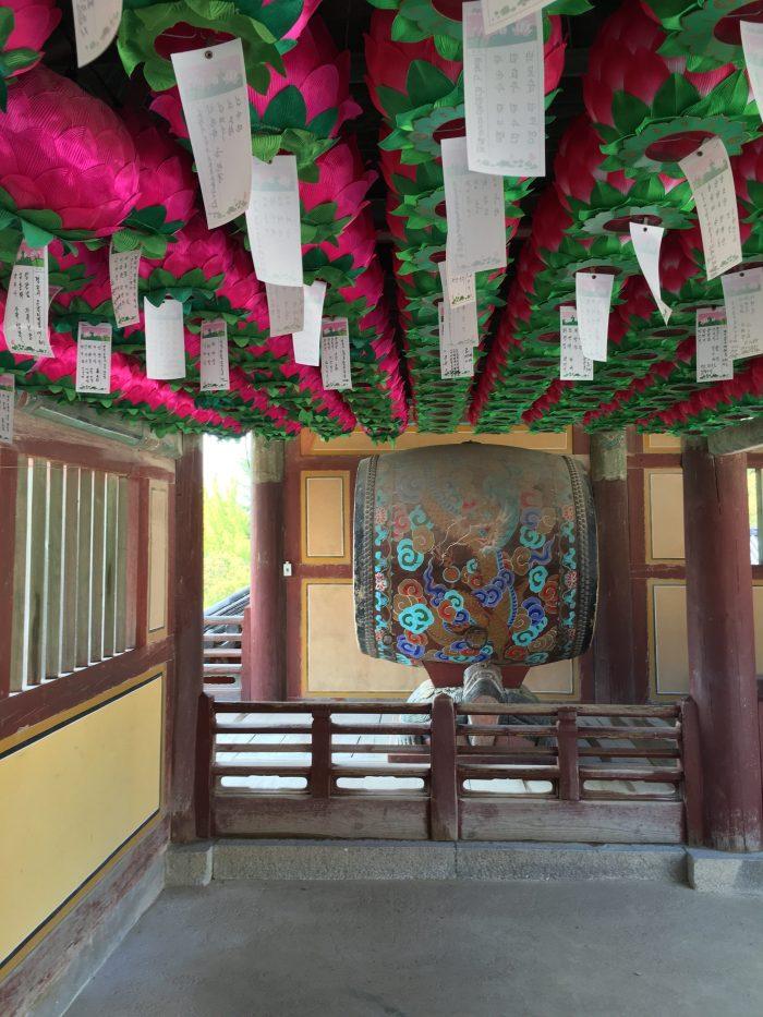 bulguksa temple drum 700x933 - A day trip from Busan to Gyeongju, South Korea