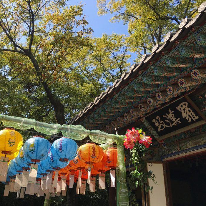 bulguksa temple lanterns 700x700 - A day trip from Busan to Gyeongju, South Korea
