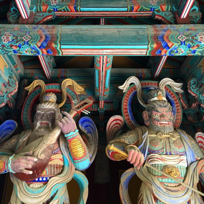 bulguksa temple statues 700x700 - A day trip from Busan to Gyeongju, South Korea