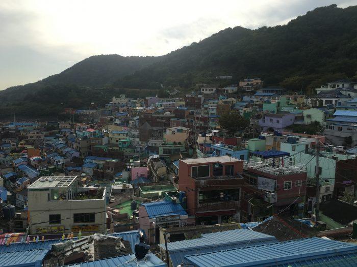 gamcheon culture village views 700x525 - A visit to Gamcheon Culture Village in Busan, South Korea