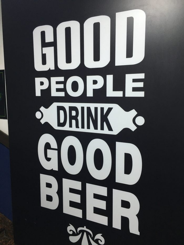good people drink good beer 700x933 - The best craft beer in Busan, South Korea